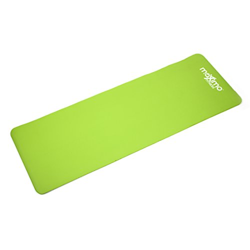 Maximo Exercise Mat – Premium Quality Gym Mat – Multi Purpose – 183cm Length x 60cm Width x 1.2cm Thick – Perfect for Yoga, Pilates, Sit-Ups and Stretching – Lifetime Warranty.