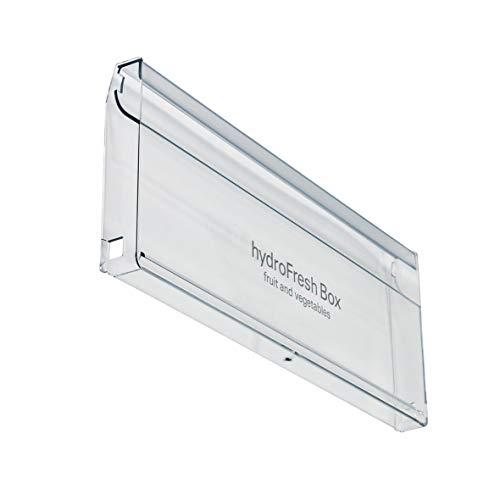 Bosch Siemens 743269 00743269 ORIGINAL Schubladenblende Schubladengriffplatte Abdeckung Schubladenfrontenblende 445x180mm Gemüseschale Kühlschrank Kühlautomat auch Neff Balay Constructa