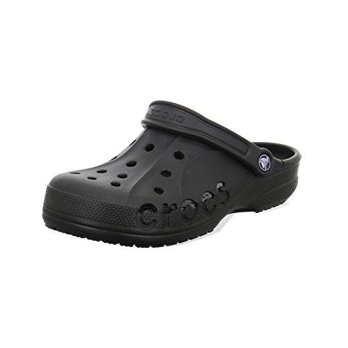 Crocs Unisexe Adulte Baya Lanière Dos Sandale Noir (Black)