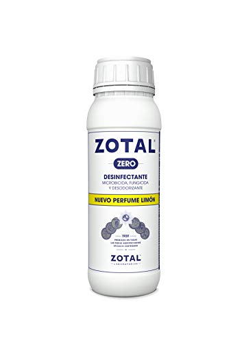 Desinfectante zotal para uso domestico, patios, terrazas, corrales. Agradable olor a limón.