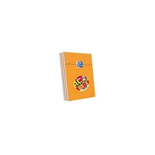 oxford-lot-de-3-blocs-160-pages-a5-orange
