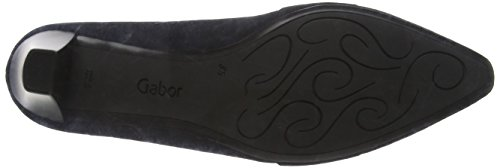 Gabor Shoes 55.141 Ladies Closed Pumps Blue (pacific 16)