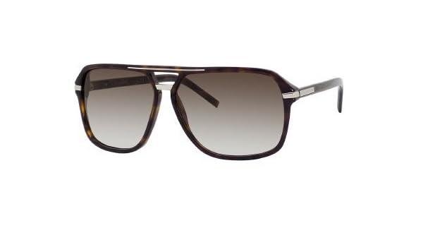 c716ae47c3b Dior Homme 109S 086 Tortoise Black Tie 109S Aviator Sunglasses   Amazon.co.uk  Clothing