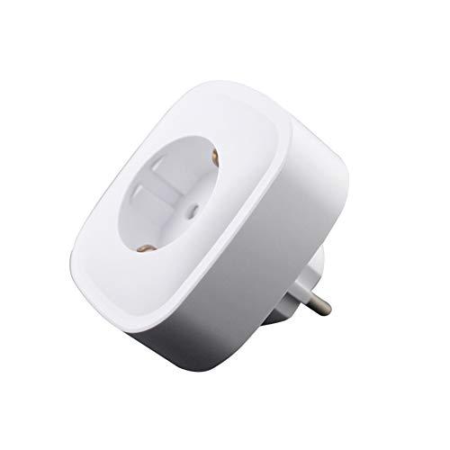KAR Presa Intelligente Senza Fili WiFi, Supporto Interruttore Timer Alexa Voice Control con Presa Smart di misurazione Compatibile con Alexa/FTTT Assistant