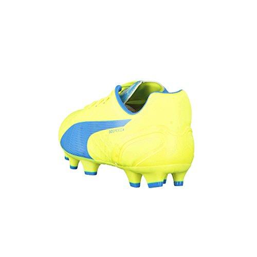Puma Evospeed 4.4 Fg Herren Fußballschuhe gelb/blau
