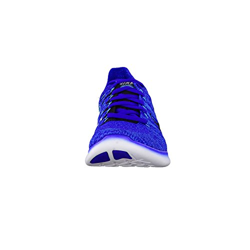 Nike Herren Free RN Flyknit Laufschuhe, 44 EU Orange (Concord / Black-Pht Blue-Gmm Bl)