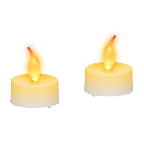 Relaxdays Velas Led con Pilas