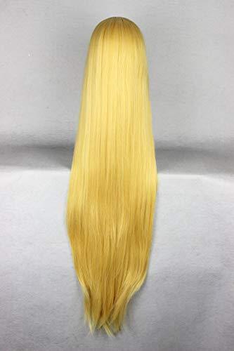 WIG MINE Blonde gerade Perücke 80cmtouhou Projekt Yakumo Yukari Golden Shadow COS Perücke