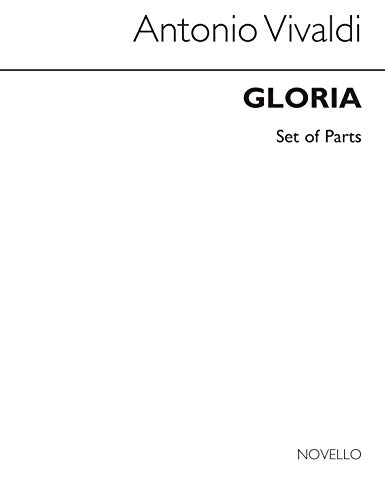 Antonio Vivaldi: Gloria in d Rv 589 (Cameron ed ) - Parts Chant