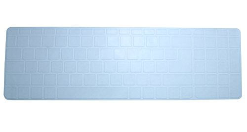 Saco Keyboard Silicon Protector Cover for HP 15-ac082TX 15.6-inch Laptop - Transparent  available at amazon for Rs.300