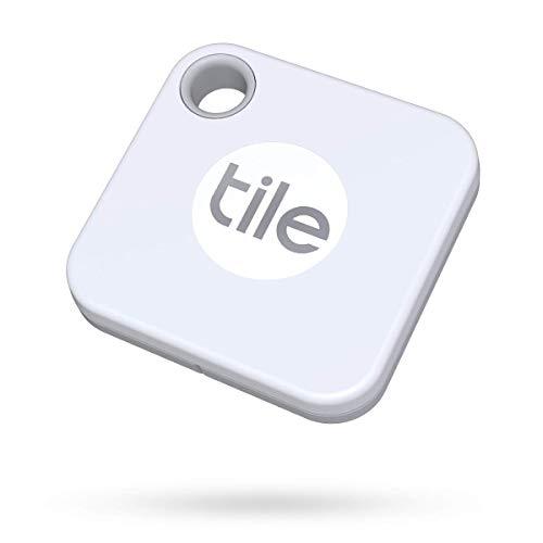 Oferta de Tile Mate (2020) buscador de objetos Bluetooth, Pack de 1, blanco. Radio búsqueda 60m, batería 1 año sustituible, compatible con Alexa, Google Smart Home, iOS, Android. Busca llaves, mandos y más