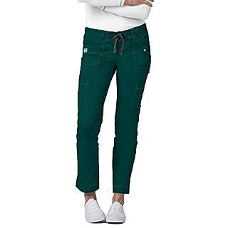 ADAR UNIFORMS Medical Scrub Pants – Women's Hospital Uniform Trousers, Color HGR | Size: L