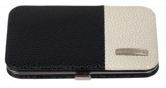 Windrose Bicolore Ensemble de manucure (lot de 4 pièces) 11 cm noir