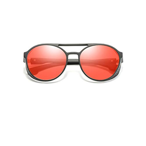 YULAND Unisex Retro Vintage Sonnenbrille Im Angesagte, Damen Mode Cat Eye Shade Sonnenbrillen Integrierte Streifen Vintage Brille