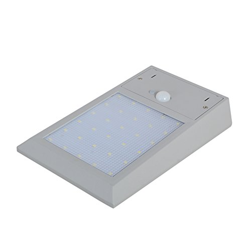 XYD 5W Pannello Energia Solare Parete Luce LED Giardino Esterno