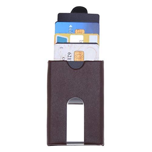 Metall Business Name Karteninhaber Kreditkarteninhaber Mode Unisex Besuch Kartenetui Brieftasche Edelstahl Solide Aufbewahrungsbox