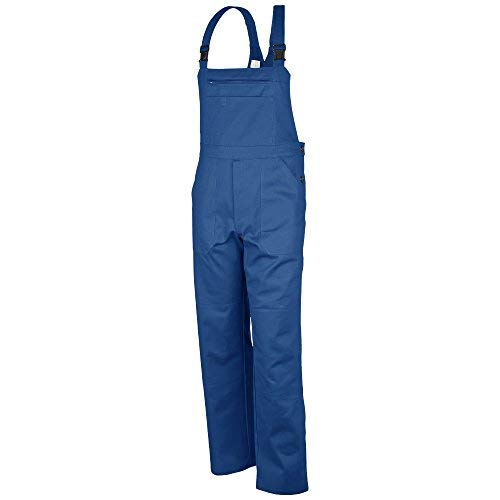 Qualitex Latzhose-Basic 100% CO 240 G/M² Farbe Kornblau Größe 52 (Blass Mann Kostüm)