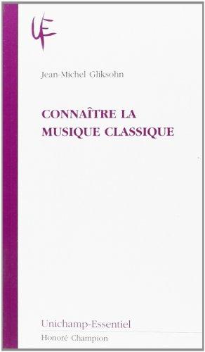 Connaître la musique classique
