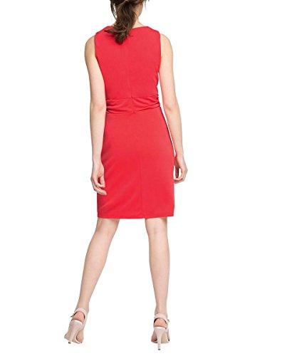 Esprit 036EO1E025 - Robe - Moulante - Uni - Sans manche - Femme Rose (Coral)