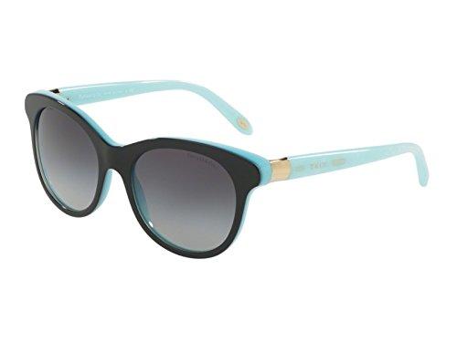 Tiffany 0ty4125 81633c 52, occhiali da sole donna, nero (black/shot/bluee/greygradient)