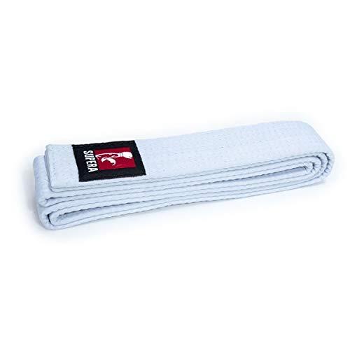 Supera Cintur/ón de Artes Marciales Longitudes Budog/ürtel Cintur/ón de Karate de Tejido Extra Grueso Cintur/ón de Taekwondo para ni/ños y Adultos