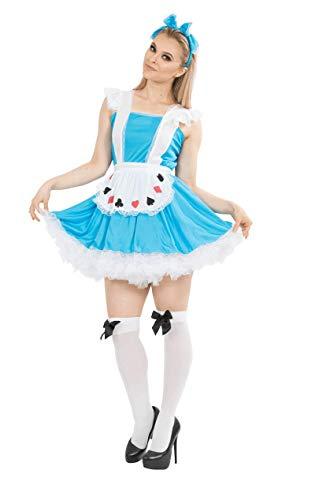 Sexy Alice Und Wunderland Kostüm - Sexy Alice im Wunderland Kostüm Karneval