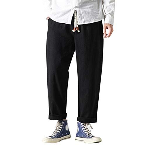 Reiten Jeans (Malloom-Bekleidung Leinenhosen Männerhosen Männerhosen weiße Jeans Hosen Mann XXXXL Hosen Mann Reiten Lange Hosen Sport Mann Hosen Sport Mann Reißverschluss)