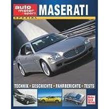 Maserati : Technik - Fahrberichte - Tests - Vergleichstests