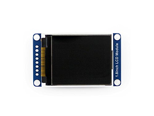 Waveshare 128x160 Pixels 1.8inch LCD Display Module with Embedded Controller, Communicating Via SPI Interface - Lcd-display-controller