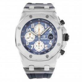 Audemars Piguetautomatische Herren-Armbanduhr, königseichenfarben, Offshore, 26470ST.OO.A027CA.01