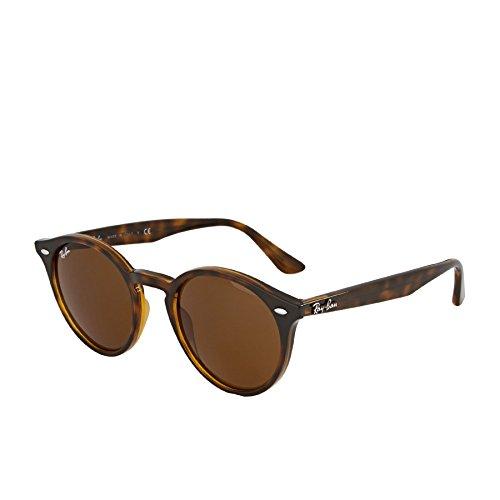 Ray-Ban Unisex-Erwachsene Mod. 2180 Sonnenbrille, Braun, 51