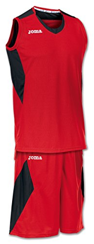 Joma Set Space Basketball Trikot-Set rot-schwarz rot/schwarz, L