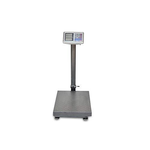 Bascula Industrial De Plataforma 300Kg Balanza Plataforma de 40x50Cm Peso