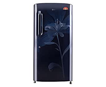 LG 190 L 5 Star Direct-Cool Single Door Refrigerator (GL-B201AMLN, Marine Lily)