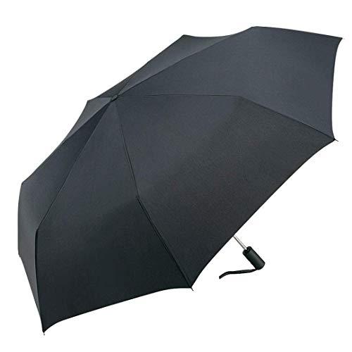 Regenschirm Taschenschirm Jumbo® Trimagic Safety von German Box Komfortabler Doppelautomatik Regenschirm für Zwei Personen mit patentiertem Sicherheits-Schließsystem Durchmesser 120cm (schwarz)