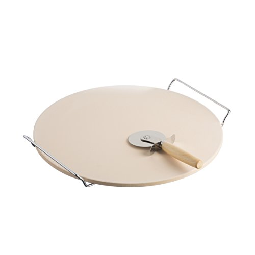 Typhoon Living set pietra per pizza da 33cm e pietra refrattaria per...