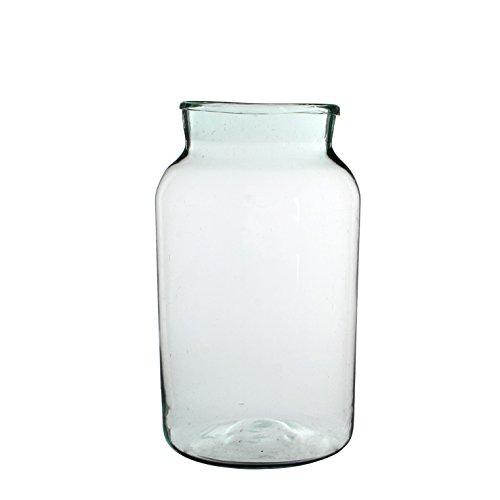 Vase de décoration Vienne- Transparent - Mica, transparent, H 44 cm D 25 cm
