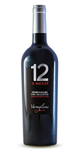 """Negroamaro del Salento IGP """"12 e Mezzo"""" - Varvaglione, Cl 75"""