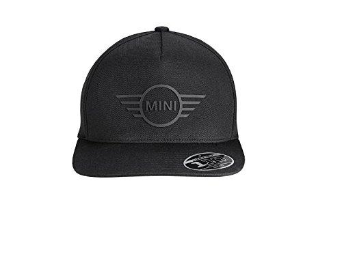 ORIGINAL MINI Baseball Cap Basecap Kappe Mütze CAP WING LOGO FLAT PEAK BLACK Mini-cap