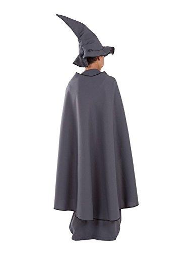 Imagen de disfraz de mago gris para niño  único, 11 a 13 años alternativa