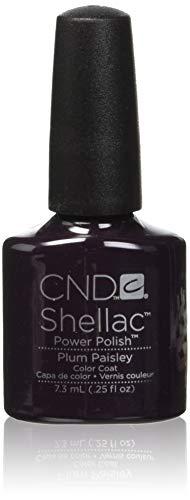 CND SHELLAC - Plum Paisley, 7 ml -