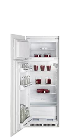 Indesit IN D 2412 S 222L A+ Blanc réfrigérateur-congélateur - réfrigérateurs-congélateurs (222 L, N-T, 37 dB, 2 kg/24h, A+, Blanc)