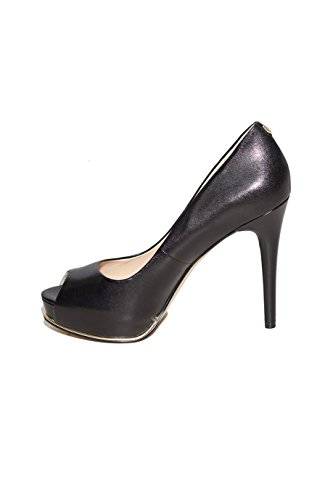 Scarpe Decolletté Donna Guess Mod. HONORA LEATHER SHOE FL4HONLEA07 Col. Nero. Nero