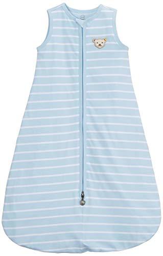 Steiff Baby - Jungen Schlafsack Decke L001912526, Gr. 92 (Herstellergröße: 90), Blau (Winter Sky 3023)