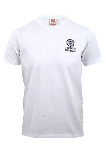 Franklin & Marshall - Camiseta - para hombre blanco blanco XX-Large