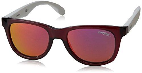 Carrera Junior Unisex-Kinder CARRERINO 20 VQ JQO Sonnenbrille, Weiß (WHTPK ROSEGD/PINK MULTILAYER), 46