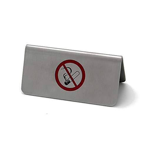 GRÄWE Metallschild/Tischaufsteller Nicht Rauchen 8 x 4 cm