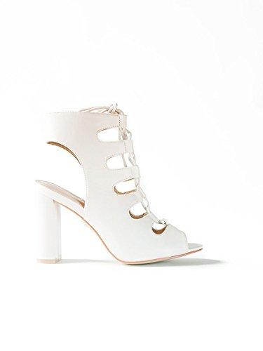 Naomi White, 39, White - Sandalo Alto - Martina Gabriele shoes