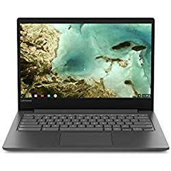 "Lenovo Chrome S330-14 Chromebook convertible 14"" HD Noir (MediaTek 8173, 4 Go de RAM, eMMc 32 Go, Integrated Graphique, Chrome OS)"
