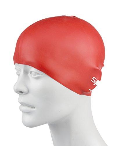 Mainline Mütze Plain Moulded Silicone Junior, (Schwimmen Kostüm Mädchen Speedo)